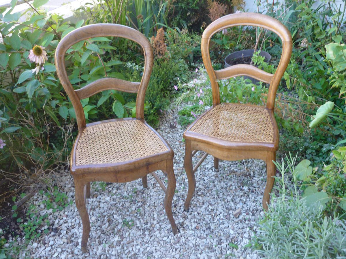 Affordable Paire De Chaises Anciennes With Provenales