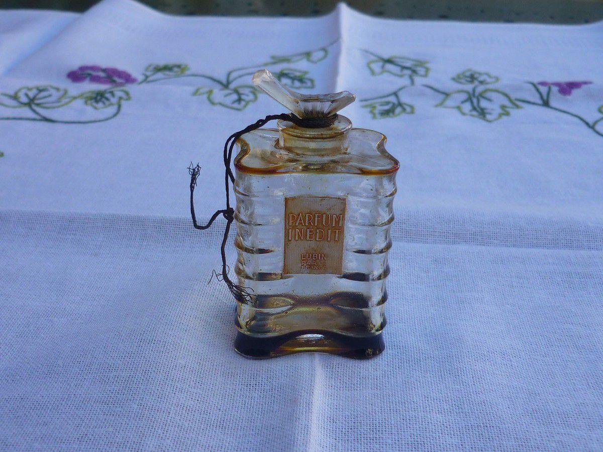 Flacon de parfum Lubin de 1930 a vendre