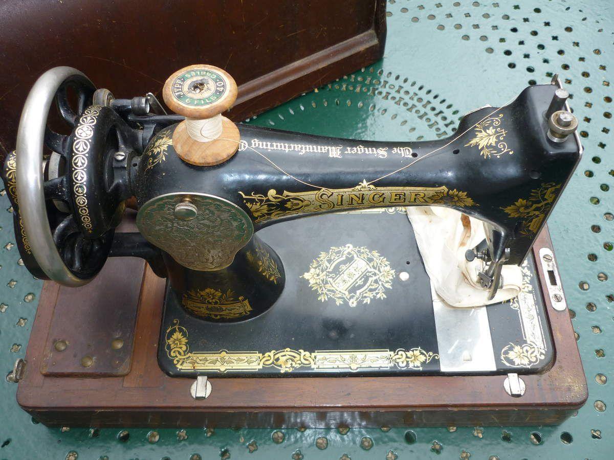 machine à coudre ancienne Singer à vendre
