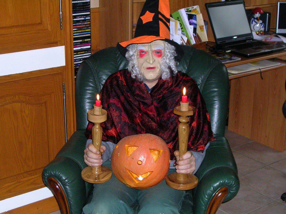 Voilà comment on se prépare pour fêter halloween!!