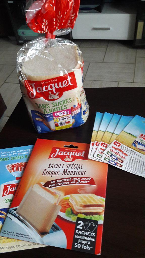 Test du pain de mie Jacquet sans sucre ajouté