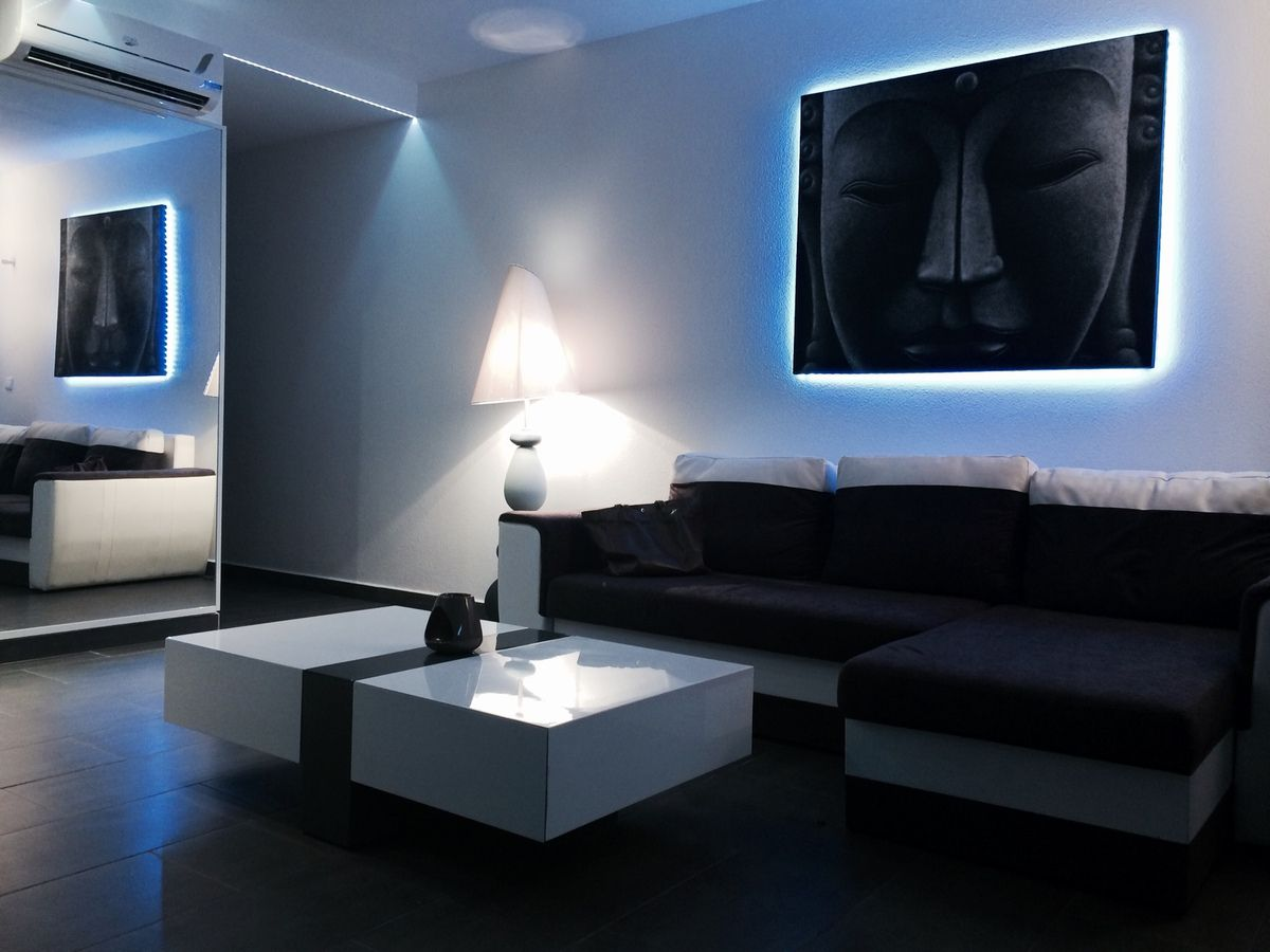 l 39 appartement moderne anse marcel st martin locations saint martin des vacances de r ve. Black Bedroom Furniture Sets. Home Design Ideas