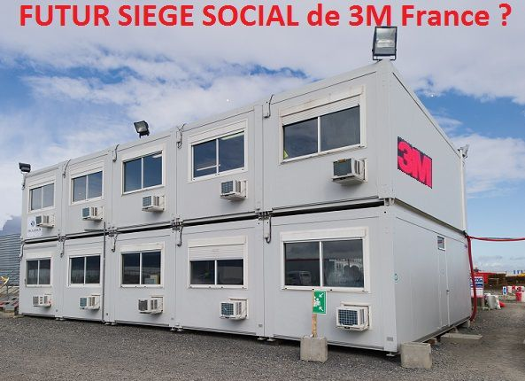 3M / Grand Centre Cergy : Un siège social ou un mirage ?