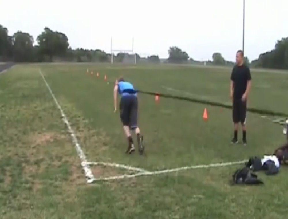 Son dernier entraînement