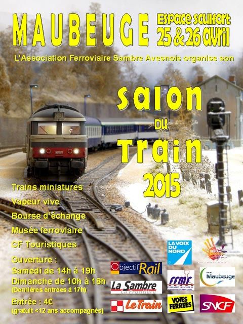 Salon du train de Maubeuge