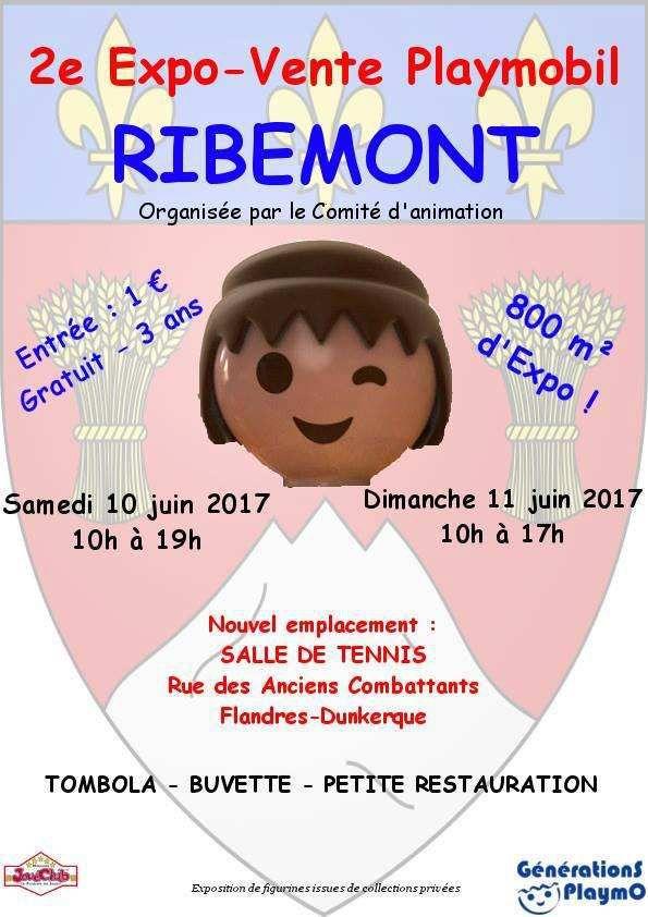 2ème Expo-vente de Playmobil de Ribemont