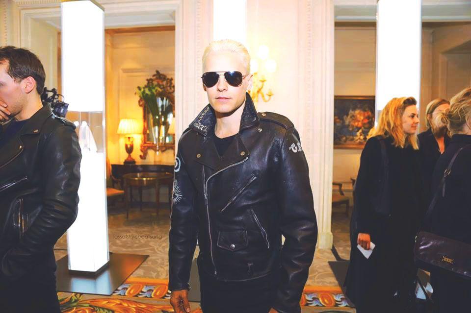 * Jared Leto @ Samsung Galaxy Diner - Hotel George V - 7/03/2015