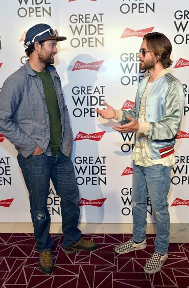 * Jared Leto @ Great Wide Open à West Hollywood.