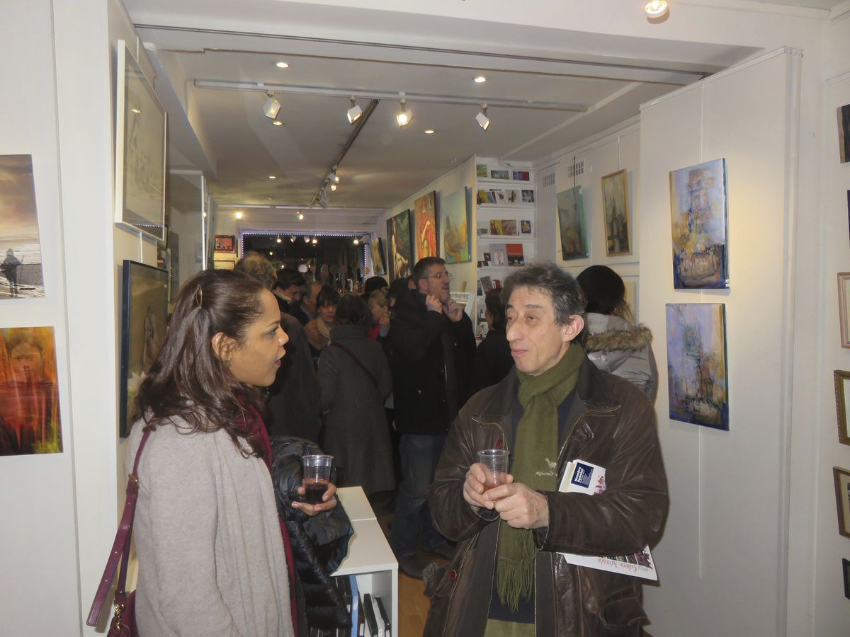 Photo du vernissage
