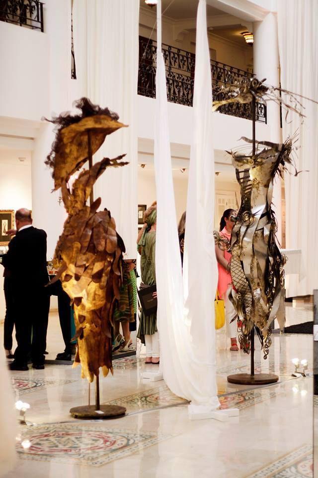 """Exposition """"Les Demoiselles"""" by marie du 1er au 30 juin 2013"""