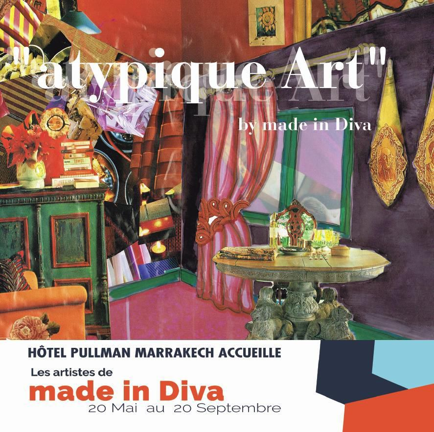 Hotel Pullman Marrakech accueille les Artistes de made in Diva du 20 Mai au 20 Septembre