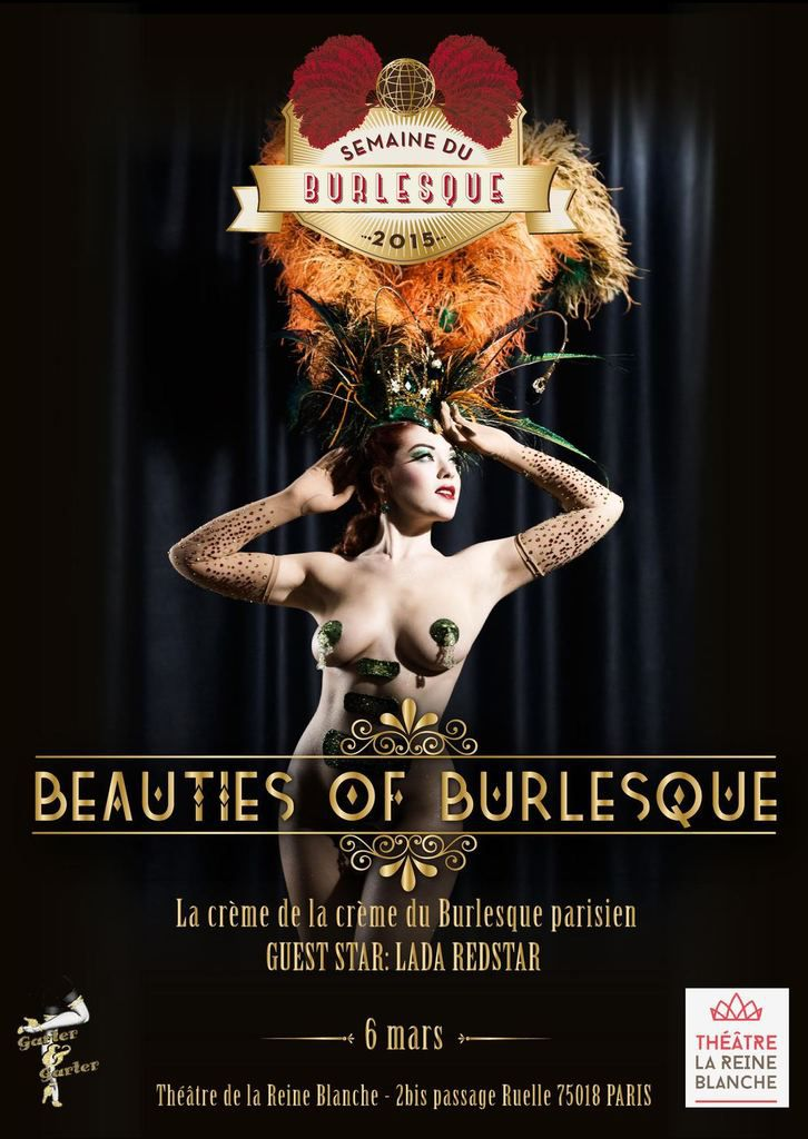 Spectacle : Beauties of Burlesque  - 6 mars 2015
