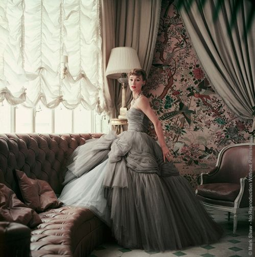 Robe DIOR by Mark SHAW