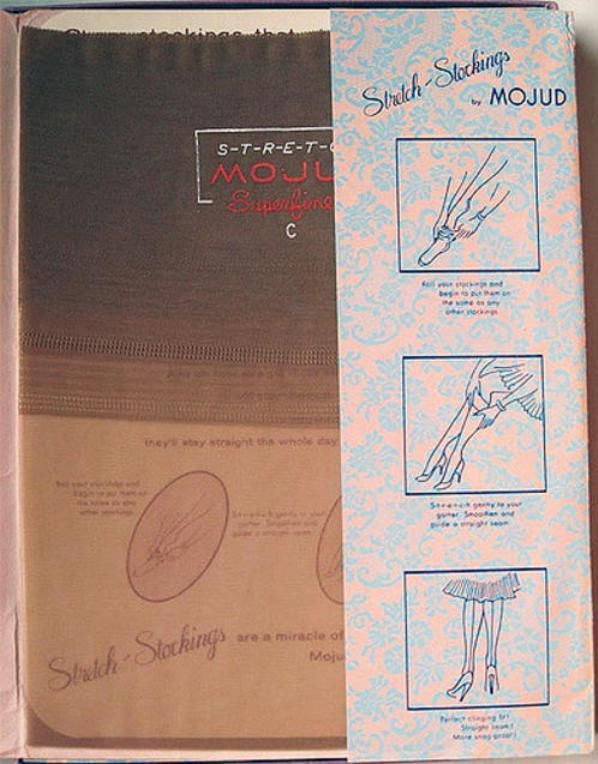 Vintage : MOJUD nylon stockings