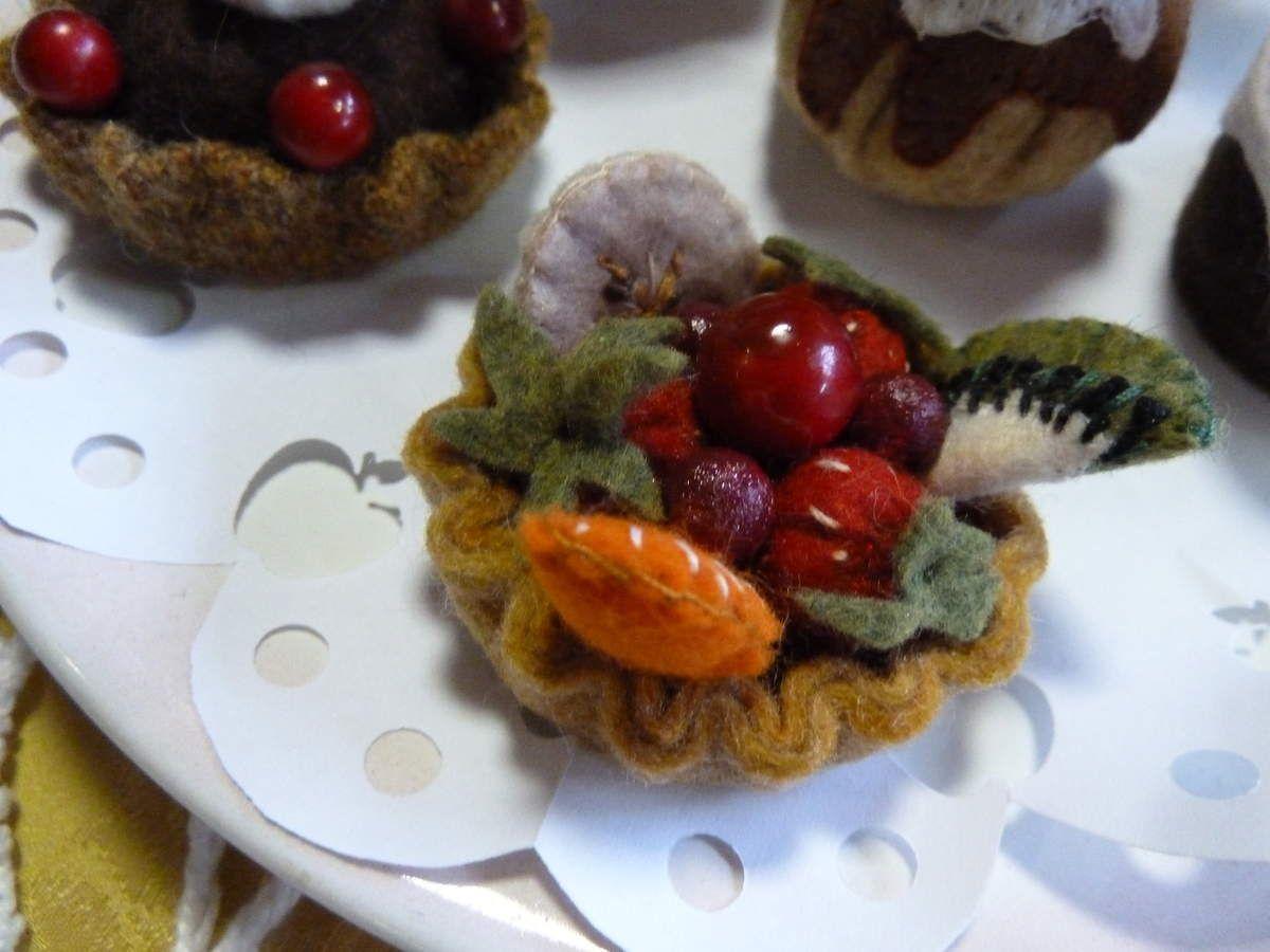 Petits gâteaux en feutrine