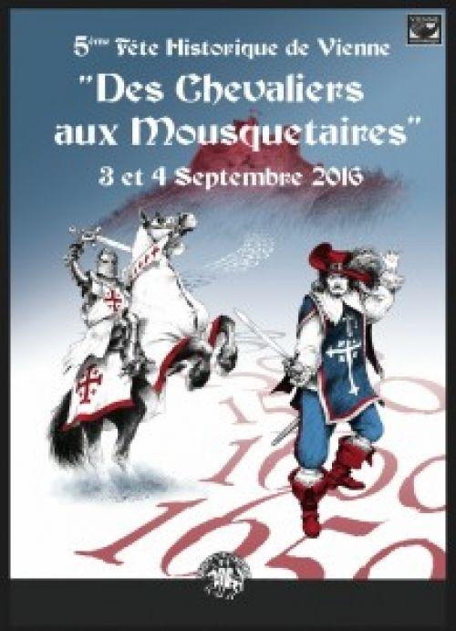 Fête médiévale Vienne le 3 et 4 septembre 2016 (Isère)