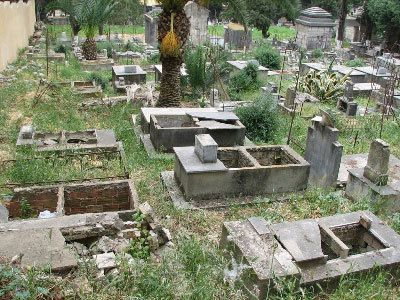 Cimetière chrétien de Bone (Algérie)