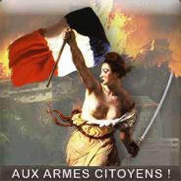 """La Marseillaise : """"Aux armes citoyens, formez vos bataillons """"!"""