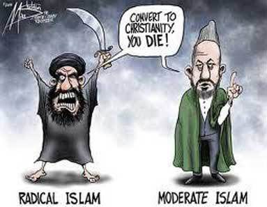Islam radical et islam modéré. Dans : https://ofthehighest.wordpress.com/2013/09/15/john-mccain-is-either-very-gullible-and-ignorant-of-islam-or-he-is-as-evil-as-obama-is-allahu-akbar-does-not-mean-thank-god-as-mccain-claims/