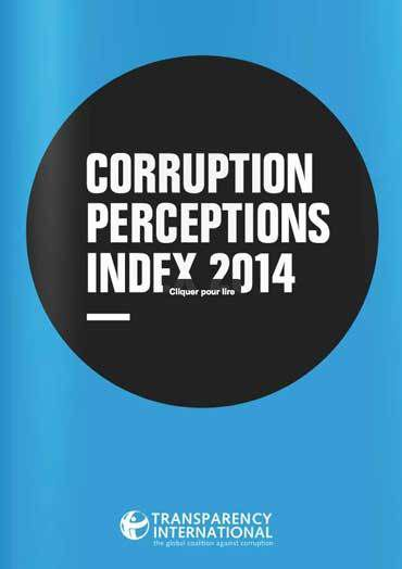 Transparency international. http://www.transparency.org/cpi2014/results