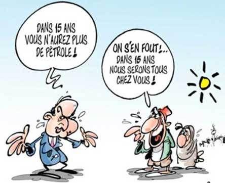 La perspicacité de DILEM (dans Algérie-Liberté)