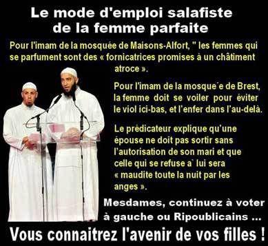 Le salafisme et la femme.