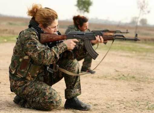 Femmes (chrétiennes) combattantes en Syrie