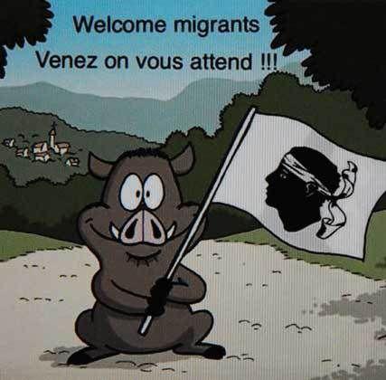Corse. Accueil des migrants !