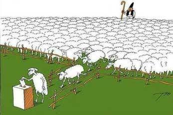 Elections pièges à cons... ou à moutons de Panurge !!!