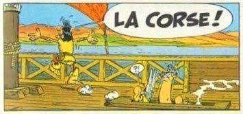 Astérix en Corse.