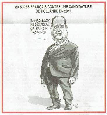 3735 - Deux brèves du jour : faute d'inverser la courbe du chômage Hollande va inverser sa courbe de popularité en naturalisant à tour de bras : +45% de naturalisations en 2016. Au sujet de l'achat inutile de TGV, pour le Canard enchaîné, Hollande est « chef de gag ! »
