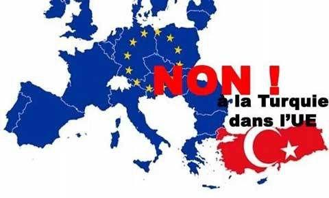 La Turquie n'est pas en Europe !