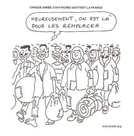 3955 – STOP AUX CONFUSIONS FALLACIEUSES (suite). Pour tromper. Aujourd'hui : LES FRONTIÈRES. « La France se tiers-mondise progressivement » (Jacques Julliard)