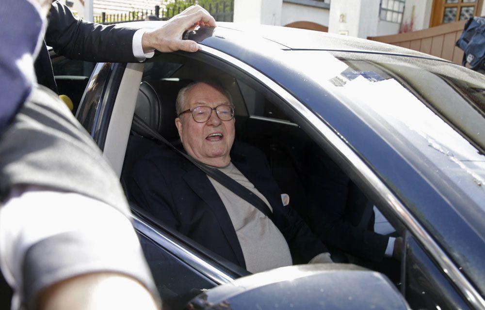 FRONT NATIONAL : JEAN-MARIE LE PEN « SUSPENDU » DE SON STATUT D'ADHERENT DU PARTI !...