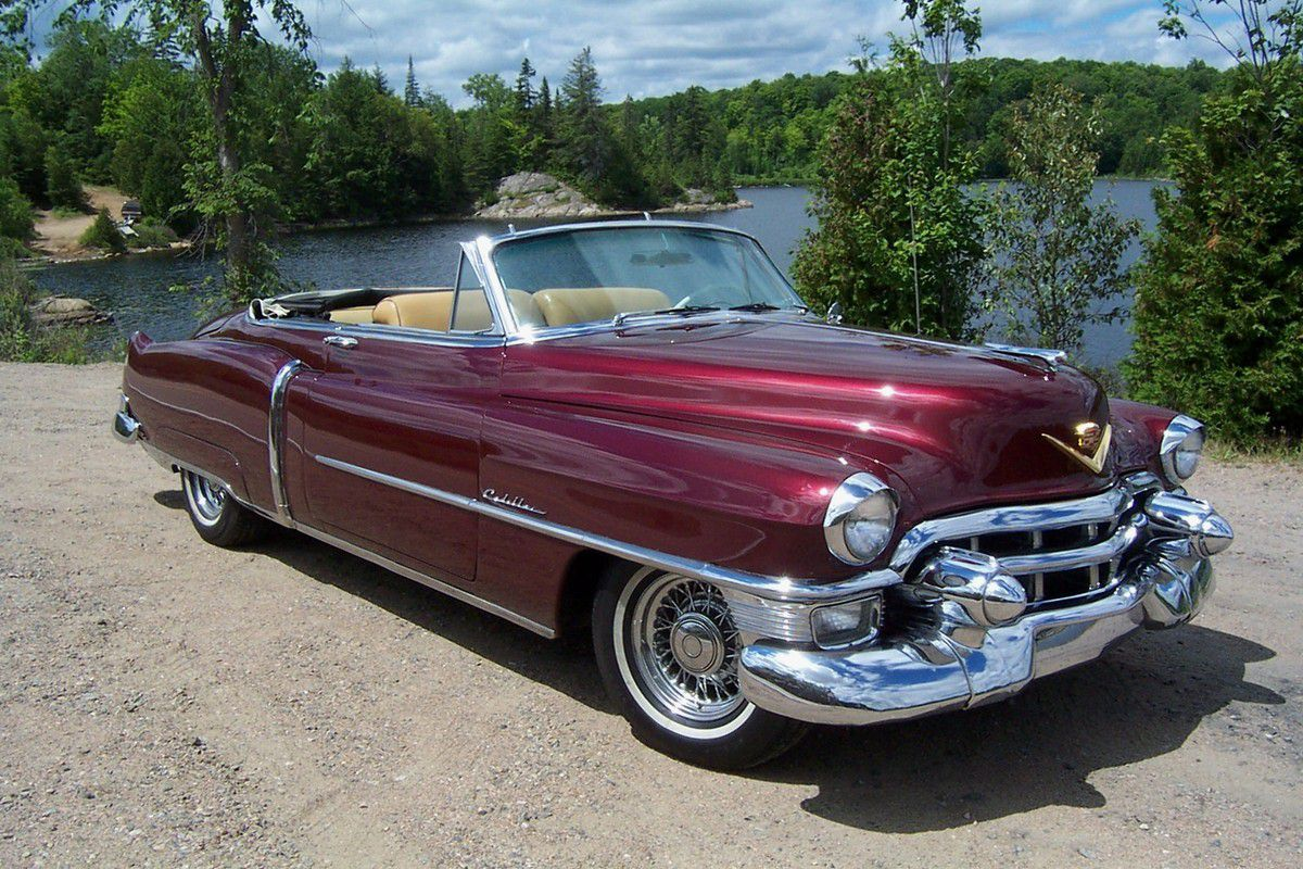 Voitures de legende 517 cadillac series 62 convertible coupe 1953 victor association - Cadillac coupe deville a vendre ...