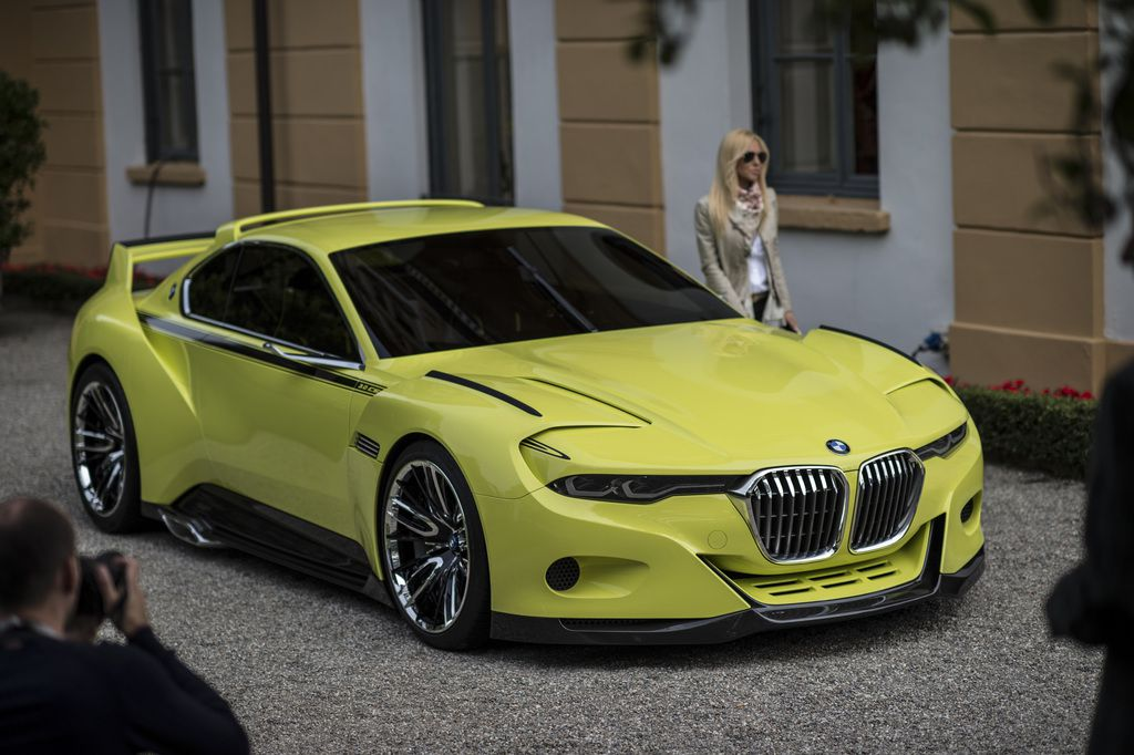 VOITURES DE LEGENDE (526) : BMW  3.0 CSL &quot&#x3B;HOMMAGE&quot&#x3B; - 2015