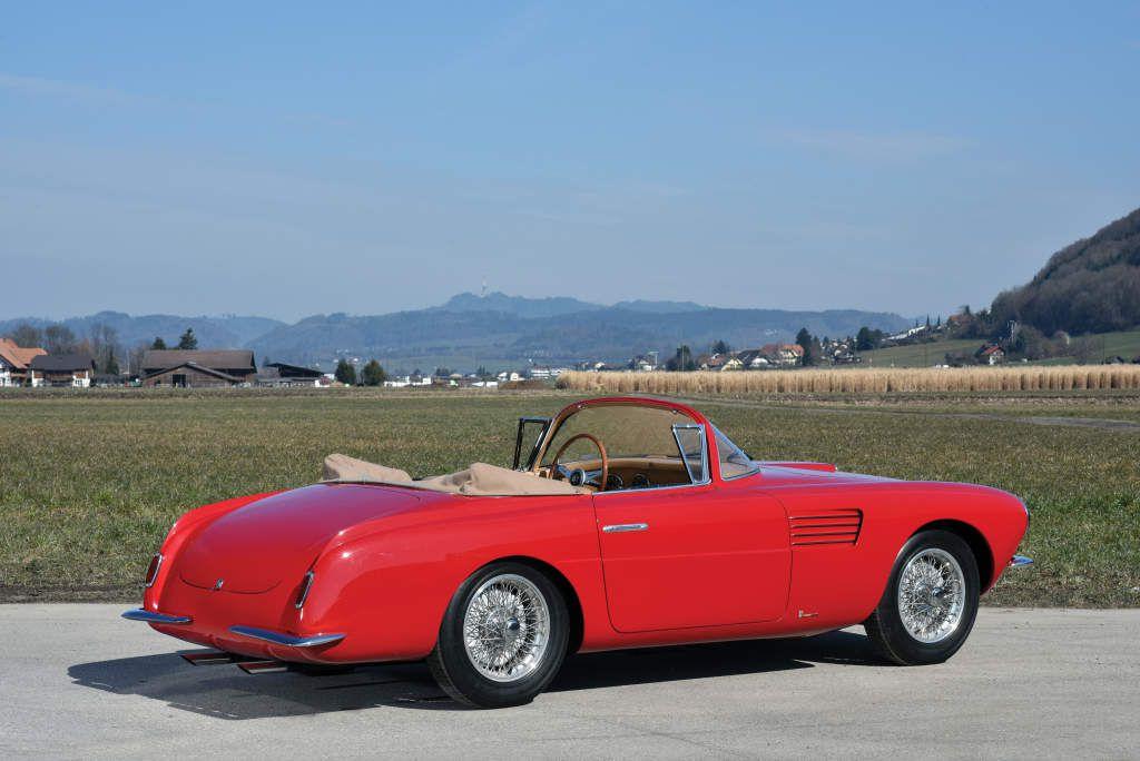 VOITURES DE LEGENDE (527) : FIAT  8V VIGNALE CABRIOLET - 1953