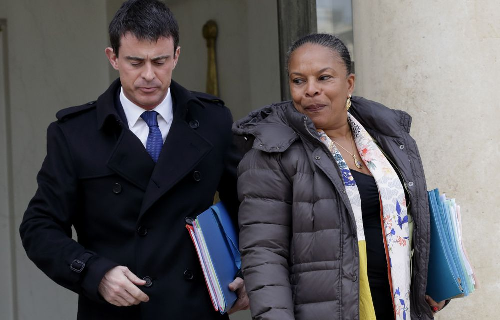 MANUEL VALLS NE « SUPPORTE PLUS » CHRISTIANE TAUBIRA !..