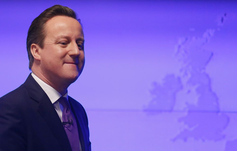 DAVID CAMERON AVANCE LA DATE DE SON REFERENDUM SUR L'EUROPE !..