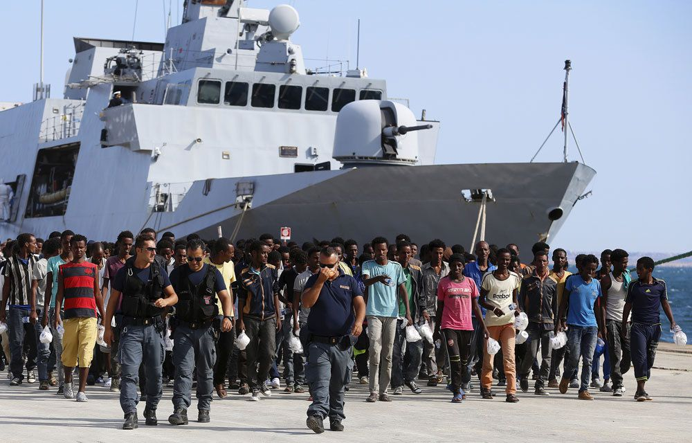 MEDITERRANEE : 4 400 MIGRANTS SECOURUS EN 24 HEURES