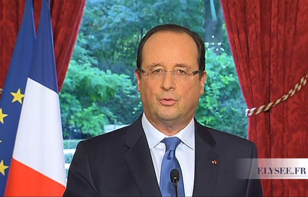 LUTTE CONTRE DAECH : LA FRANCE VEUT FRAPPER EN SYRIE !..