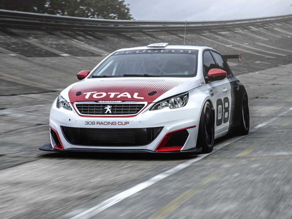 VOITURES DE LEGENDE (567) : PEUGEOT 308 &quot&#x3B;RACING CUP&quot&#x3B; - 2016