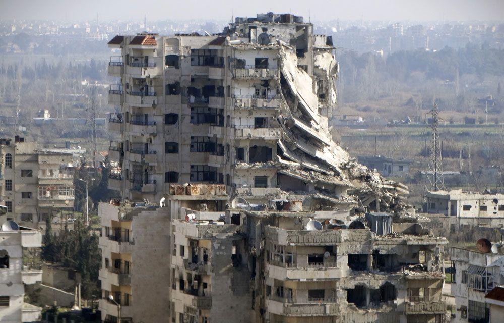 SYRIE : LES OCCIDENTAUX ACCUSENT LES RUSSES !..