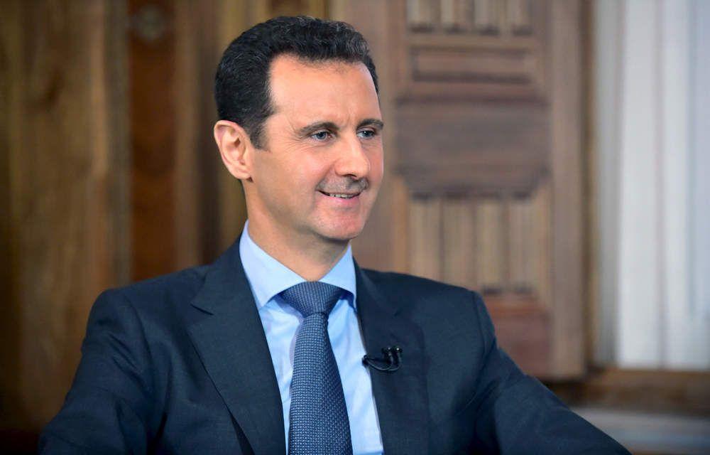 BACHAR EL-ASSAD : « SI MON DEPART EST LA SOLUTION JE N'HESITERAI PAS A PARTIR »
