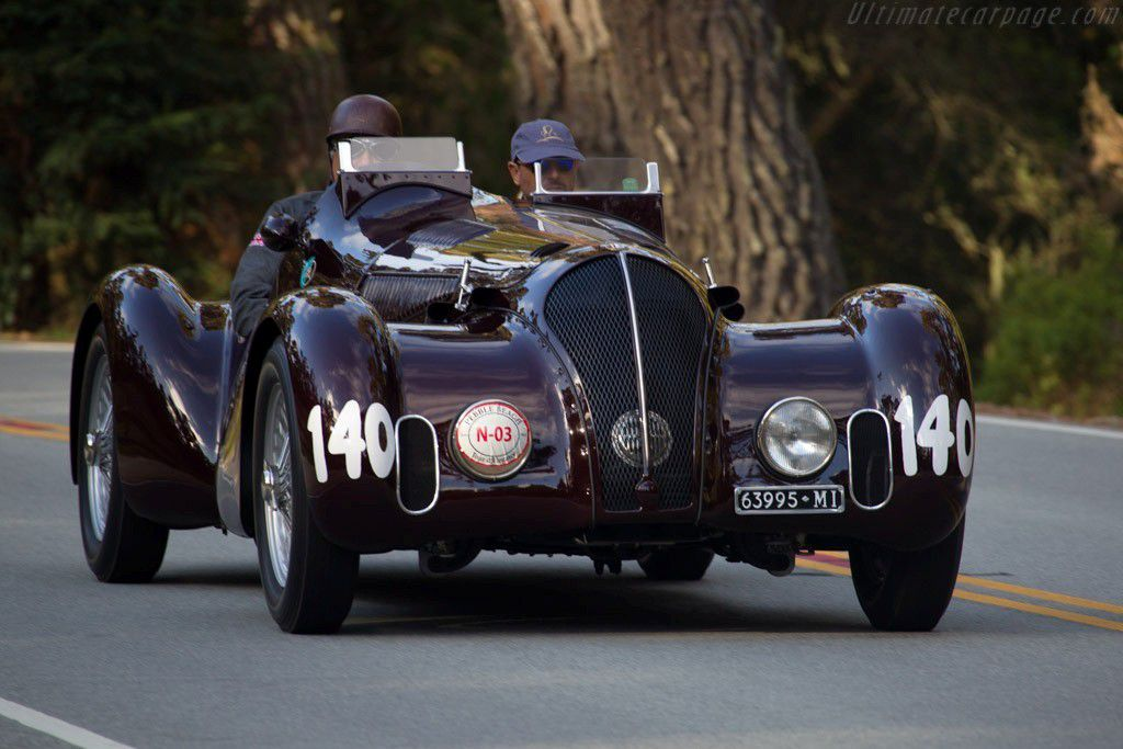 Voitures De Legende 573 Alfa Romeo 6c 2300 B Mm Touring Spider