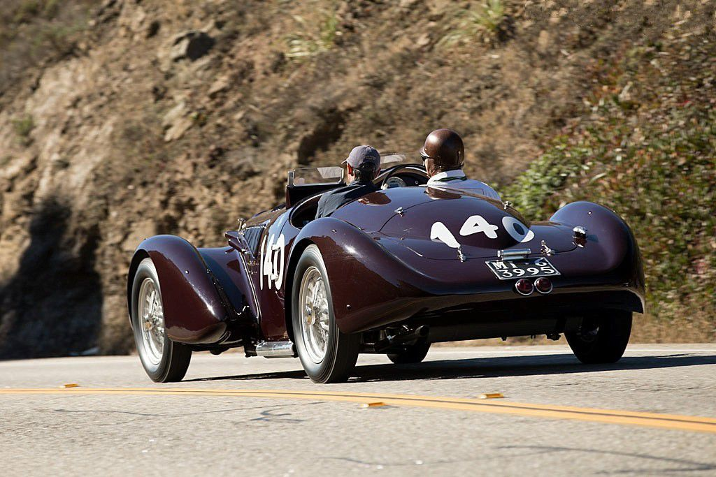 VOITURES DE LEGENDE (573) : ALFA ROMEO 6C 2300 B MM TOURING SPIDER - 1938