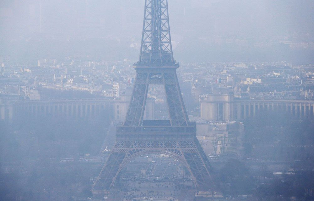 LE PIC DE POLLUTION A PARIS ETAIT SURESTIME !...
