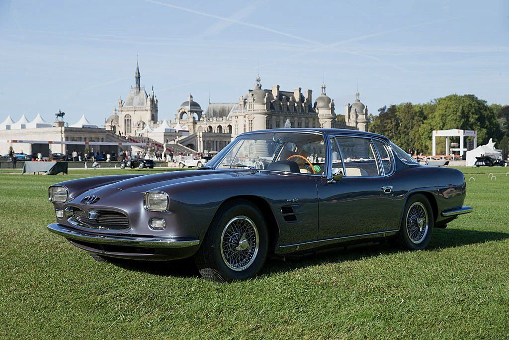 VOITURES DE LEGENDE (583) : MASERATI  5000 GT  FRUA COUPE - 1962
