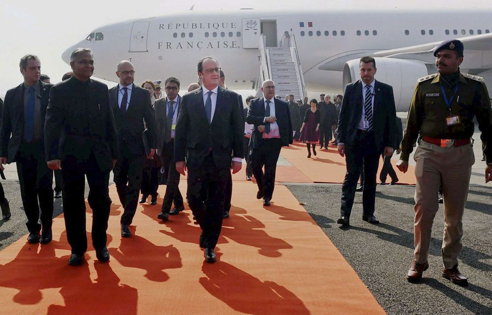 HOLLANDE EN INDE POUR FAIRE DU BUSINESS