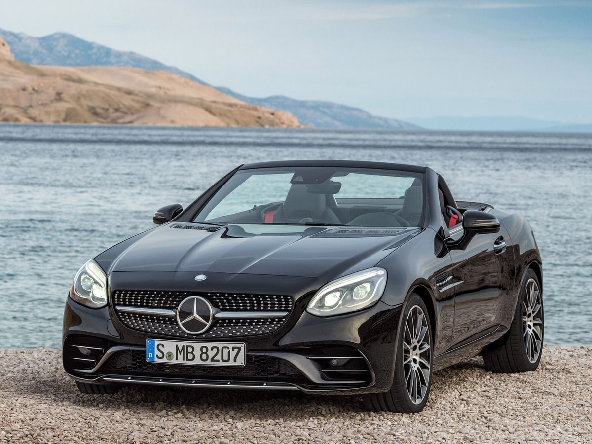 VOITURES DE LEGENDE (609) &#x3B; MERCEDES-BENZ  SLC  43 AMG  R172  - 2016